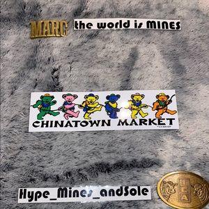 NEW Grateful Dead x Chinatown Market Bumper Sticke